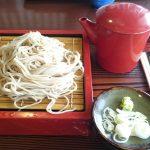 信州 十割そばを初めて食べました!