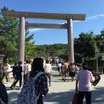 伊勢神宮の参拝ルート。一昨年行ってきました!