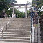 武田神社で御朱印を頂きました