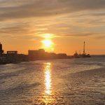 世界三大夕日のひとつ!釧路の夕日を見て来た