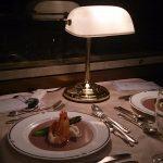 思い出の寝台列車 北斗星のフランス料理コースディナー