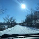 2018北海道冬の横断ドライブ旅行 3日目阿寒川~知床羅臼~阿寒川