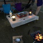 キャンプでFIELDOOR のテーブルが超便利だった!