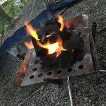 キャンプのユニフレームの焚き火台が調理にも使えて超便利だった!
