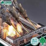 キャンプの串焼きで役立つ小道具  ロゴスのちょっと串焼き