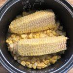 バターの香りと甘さが絶品とうもろこしご飯のレシピ!