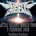 BABYMETAL2020/2/3スウェーデン セトリ感想まとめ